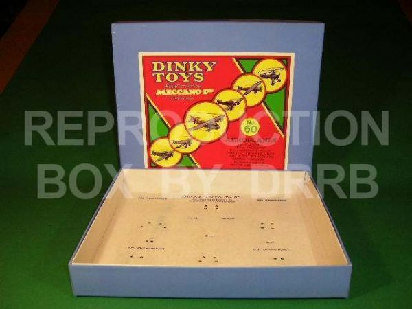 Dinky # 60 Aeroplanes Set – Reproduction Box